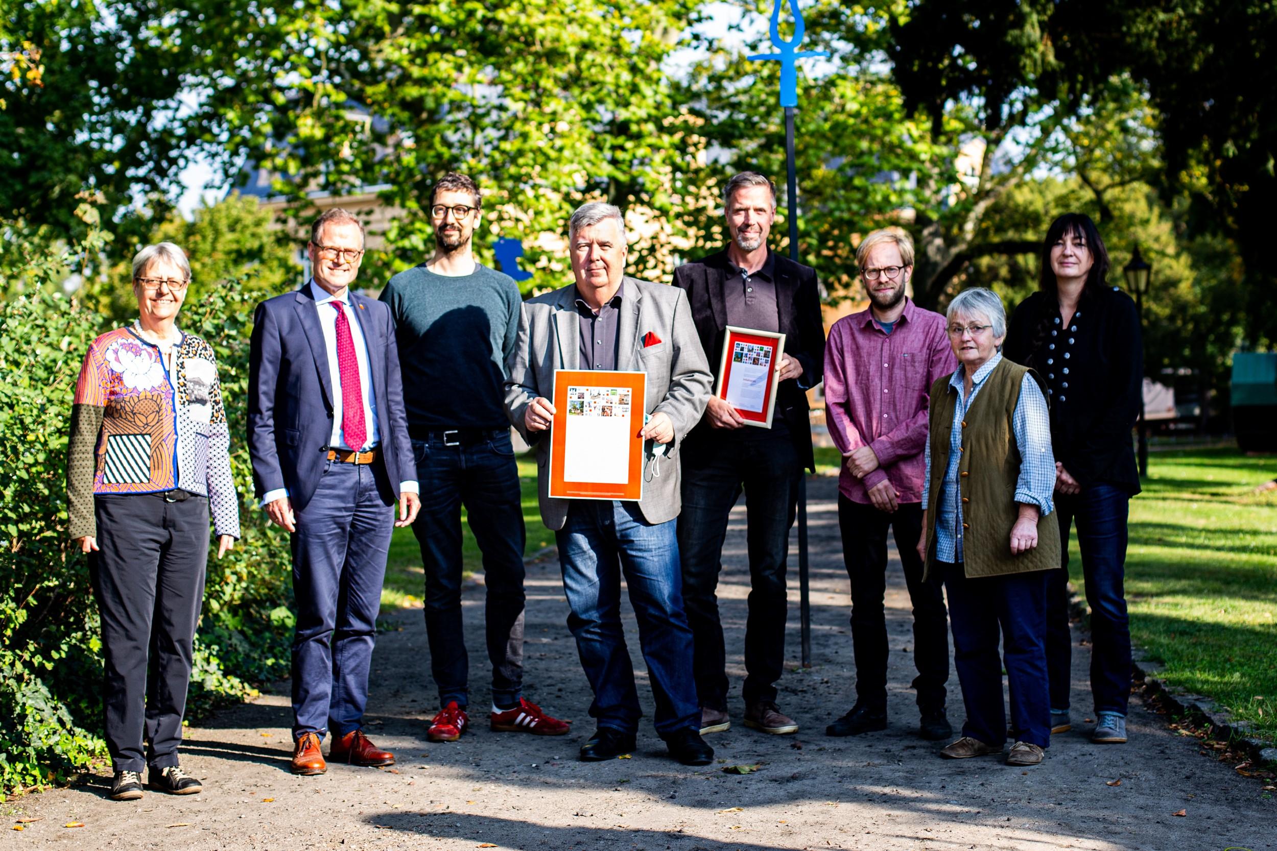Initiativpreis der Ostdeutschen Sparkassenstiftung für Oderbruchmuseum Altranft